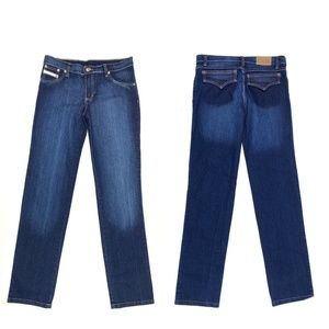 Diesel Straight Leg Low Rise Jeans